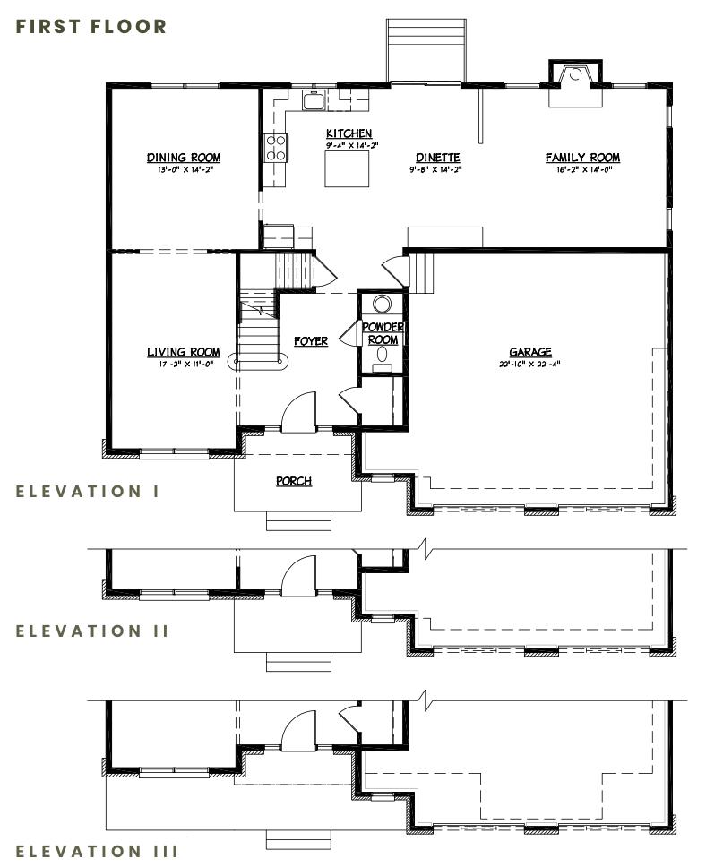 Amherst FloorPlan 1